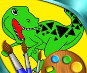 Dinosaur Coloring 2 Game