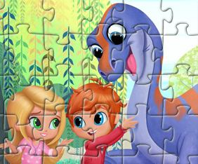 Shimmer and Shine Jigsaw Puzzle Game