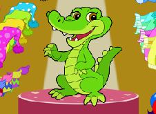Dress Up Pretty Crocky Game