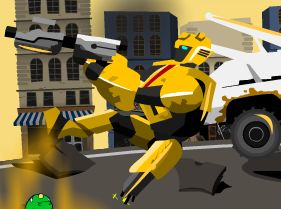 Bumble Bee Rescue Mission Transformers Game
