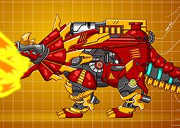 Dino Toy Robot Triangular  Game