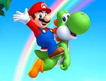 Mario Return to Dinosaur Land Game