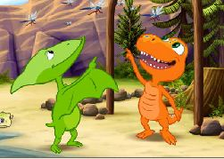 Dinosaur Train Conductor's Concentration Game