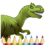 Dinosaur Coloring Online Game