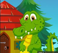 Cartoon Dinosaur Rescue Game