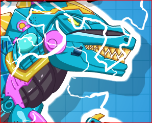 Slag Frenzy Dino Robot Game