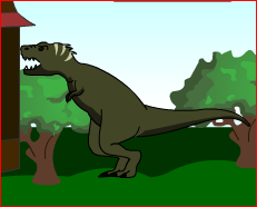 Dinosaur Attack Game