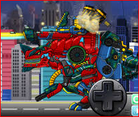 Dino Robot Dinosaurs Corps Copolymer Game