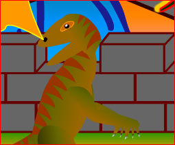 Boy and The Dinosaur Game