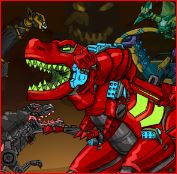 Dino Robot Adventure Game