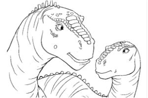 Pictures Dinosaur Coloring Page Game