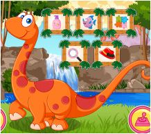Princess Baby Pet Dino Game