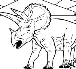 Dinosaur King Coloring Page
