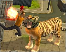 Tiger Rampage Simulator 3D Game