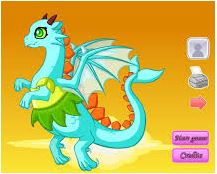 Tiny Dragon Dressup Game