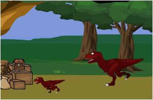 Naruto Dragon Vs Dinosaur Hunter Game
