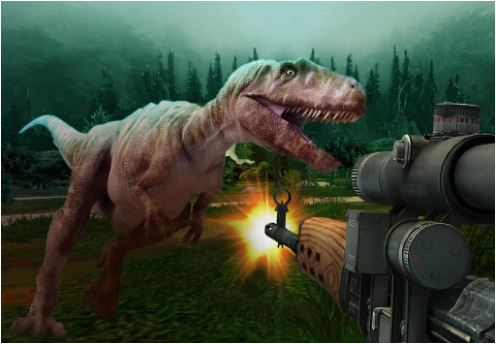 Jurassic Hunter 3D Game