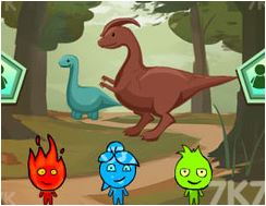 Dinosaurs and the Adventures of Three Brothers Game