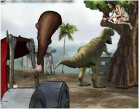 Prehistoric Cars Game