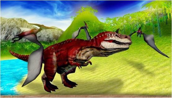 Jurassic Pterosaur Shooter 3D Game