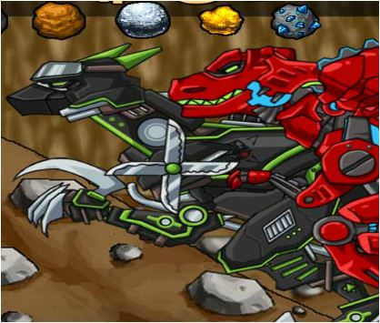 Ancient Mine Dino Robot Adventure Game