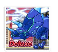 Dino Robot Tricera Blue Deluxe Game