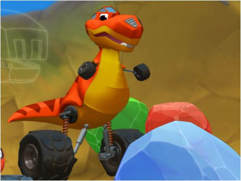 Blaze: Speed Into Dino Valley Game