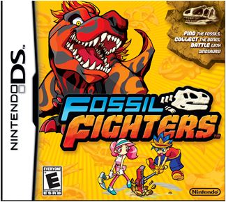 Fossil Fighters Game
