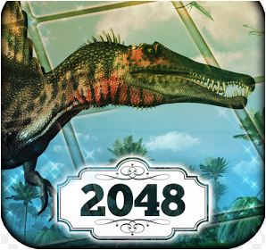 Jurassic of 2048 Game