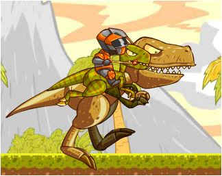 Fly T Rex Rider Epic Game