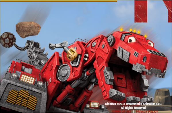 Dinotrux Boulder Bashing TY Game