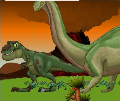 Contrasaurus Game