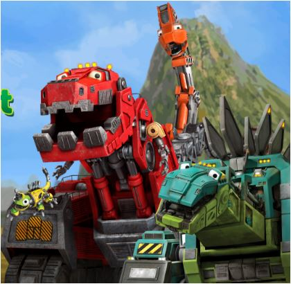 Dinotrux Builder Create and Print Game