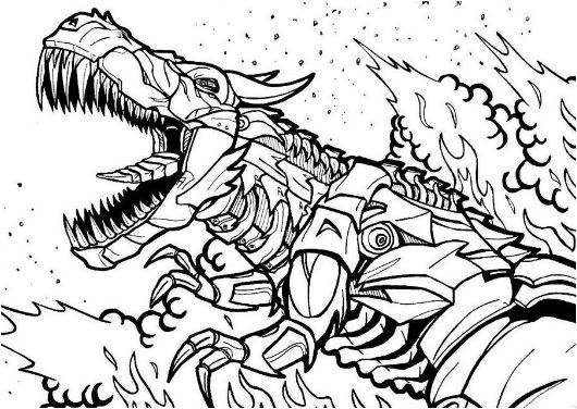 Transformers Age of Extinction Coloring Pages Game