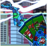 Deep Plesio Transform! Dino Robot Game