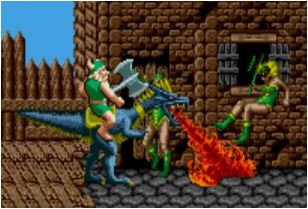 Classic Golden Axe Game