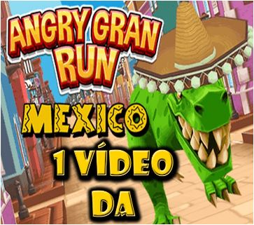 Angry Gran Run Mexico Game