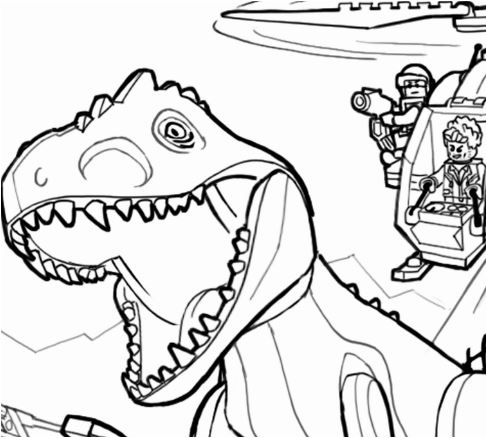 Jurassic Park Raptor Coloring Page Game