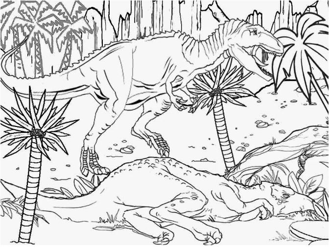Dinosaurs and Life Coloring Pages Game