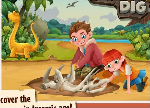 Jurassic Dinosaurs World Game