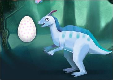 Bear Rescue Dinosaur Egg Game