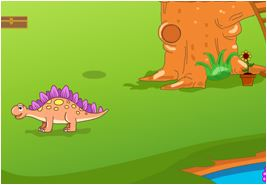 Rescuse Dinosaur Egg Game