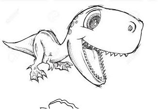 Cute Dinosaur Coloring Page Game