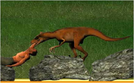 Against Fierce Dinosaurs Game