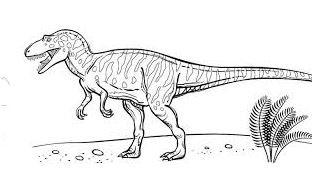 Velociraptor Coloring Page Game