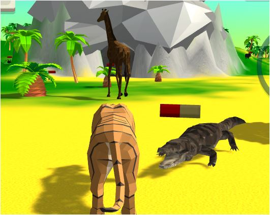 Tiger Simulator 3D Game