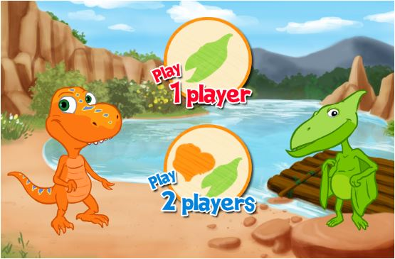 Dinosaur Train River Run Game