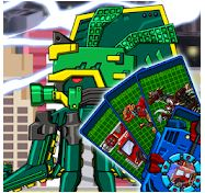 Transform! Dino Robot Ancient Octopus Game