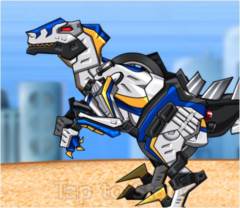 Transform! Dino Robot Velociraptor Cops Game