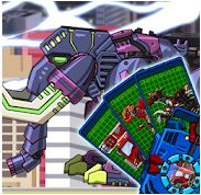 Transform! Dino Robot Mammoth Game